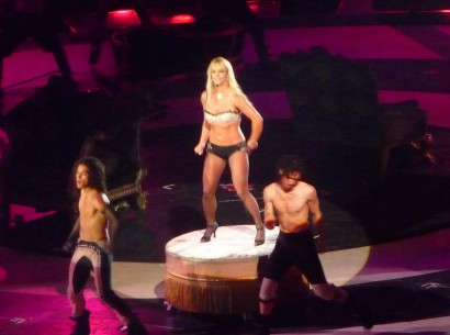 Britney Spears @ MSG 08/24/09 Photo: According2g.com