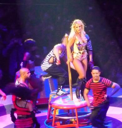 Britney Spears @ MSG 08/24/09 Photo: According2g.com