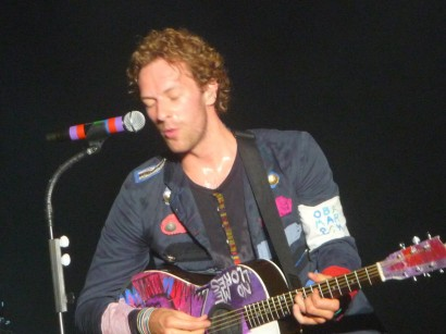 Drfunkenberry.com Exclusive Coldplay In New York. Photo: According2g.com