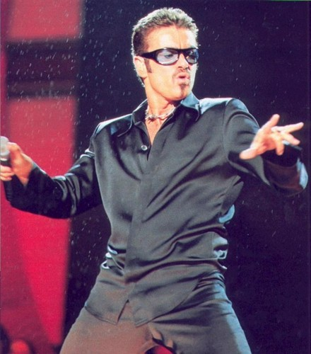 George Michael Performing Live. File Photo