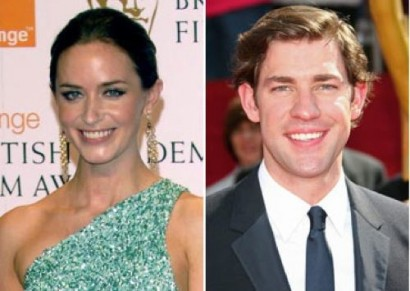 John Krasinski &amp; Emily Blunt. Photo: NYPost.com
