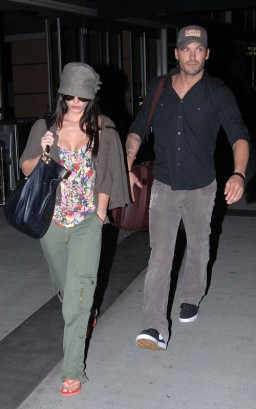 Megan Fox & Brian Ausitn Green On August 4th. Photo: SplashNewsOnline.com