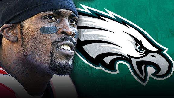 Michael Vick Signs With Eagles. Image: Espn.com