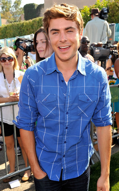 Zac Efron Attends Teen Choice Awards.  Photo: GettyImages.com