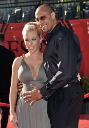 Kendra Wilkenson & Hank Baskett. Photo: Wireimage.com