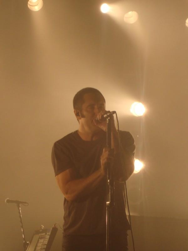 Trent Reznor Nine Inch Nails Last Concert Ever? Photo: CB