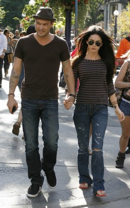 Brian Austin Green & Megan Fox In Toronto.  Photo: SplashNewsOnline.com