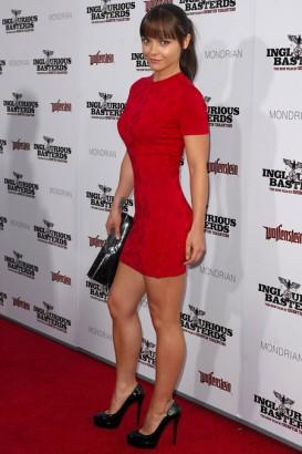 Christina Ricci inglorious basterds premiere SplashNews