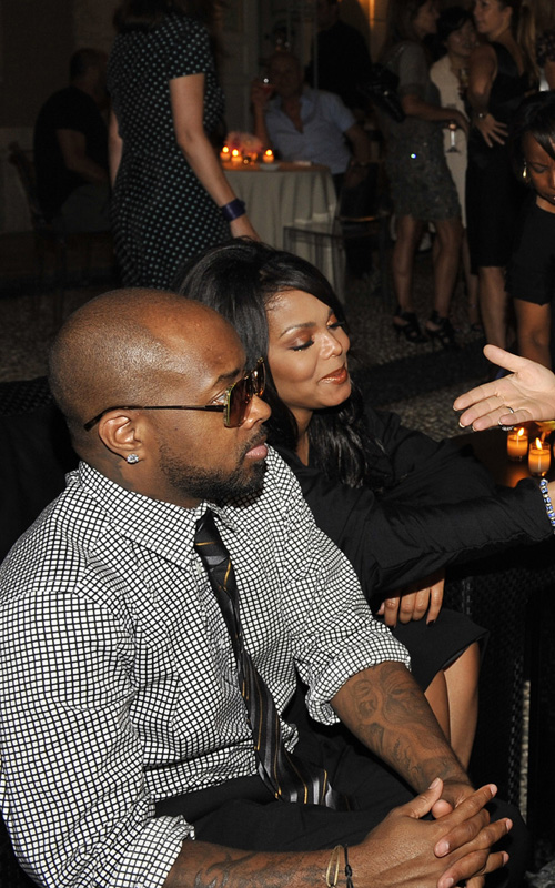 Janet Jackson & Jermaine Dupri In Milan.  Photo: FamePictures.com