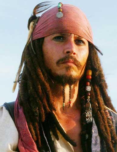 Johnny Depp As Captain Jack Sparrow. File Photo