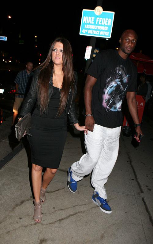 khloe kardashian and lamar odom. Khloe Kardashian amp; Lamar Odom.