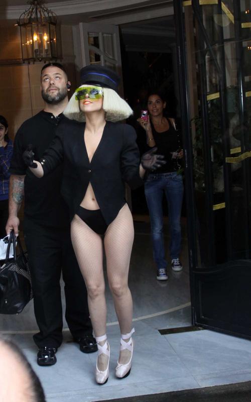Lady Gaga In France. Photo: Splashnewsonline.com