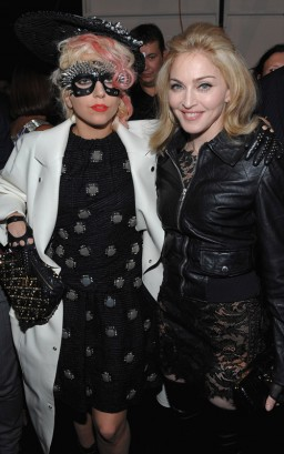 Lady Gaga & Madonna. Photo: Dimitrios Kambouris/WireImage