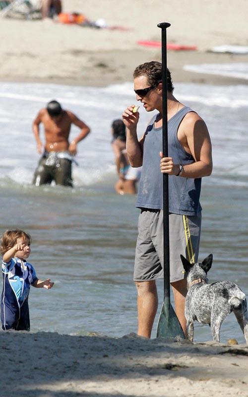 Matthew McConaughey Wire Image