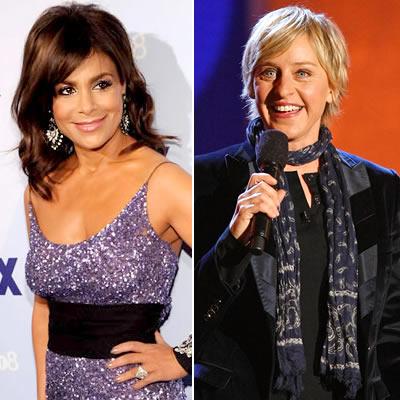 Paula Abdul & Ellen Degeneres.  Photo: ETonline.com
