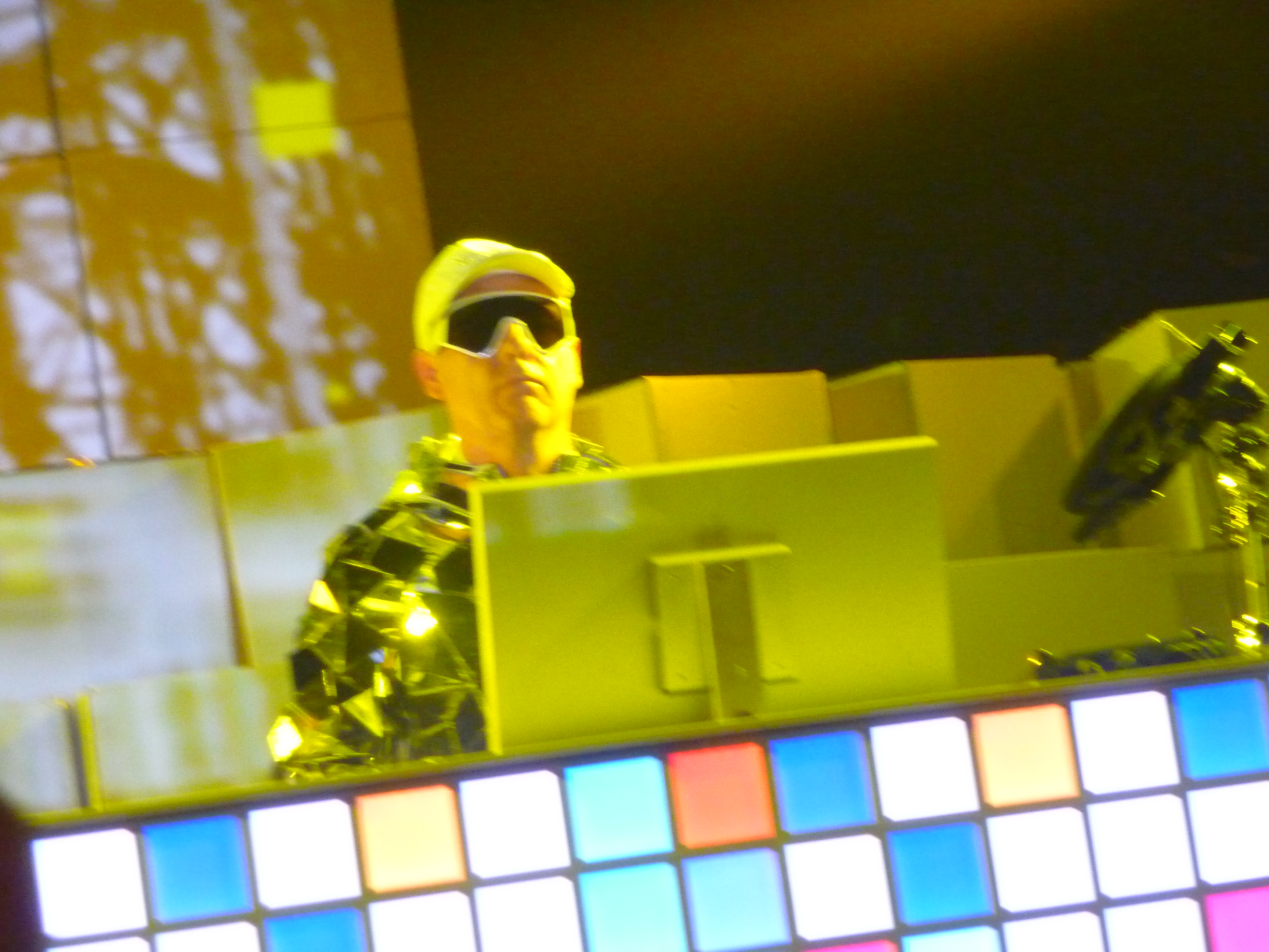 Chris Lowe Of The Pet Shop Boys Live In NY. 09/01/29 Photo: According2g.com