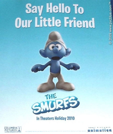 Official Smurfs Movie Poster