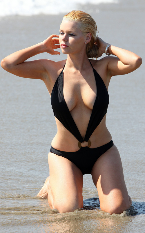 Sophie Monk In California. Photo: FamePictures.com