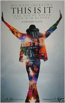This Is It Official Movie Poster.  Photo: MichaelJackson.com