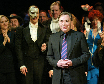 Andrew Lloyd Webber. File Photo