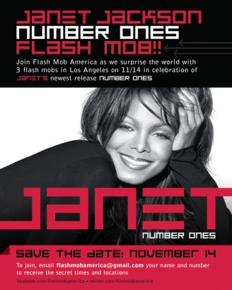 Janet Jackson Flash Mob! Click to enlarge