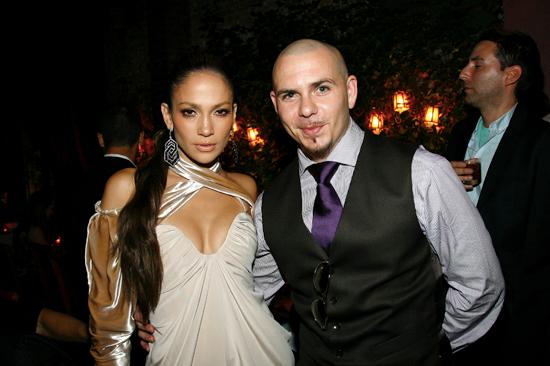Jennifer Lopez & Pitbull File Photo