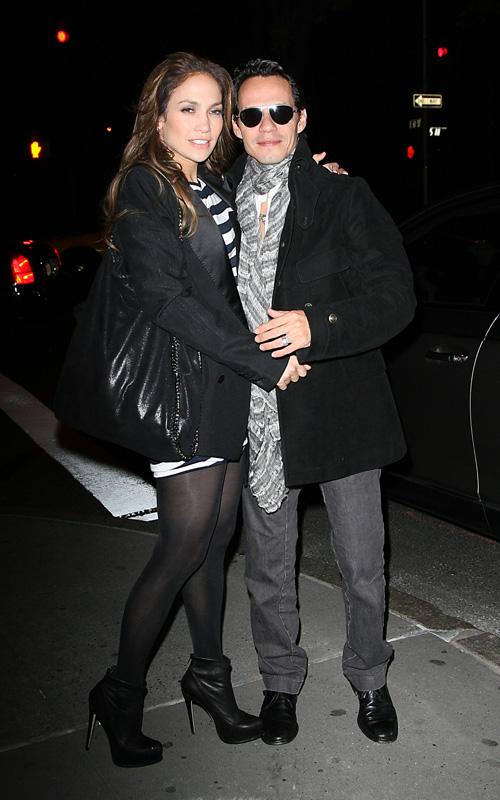 Jennifer Lopez & Marc Anthony In NYC.  Photo: SplashNewsOnline.com