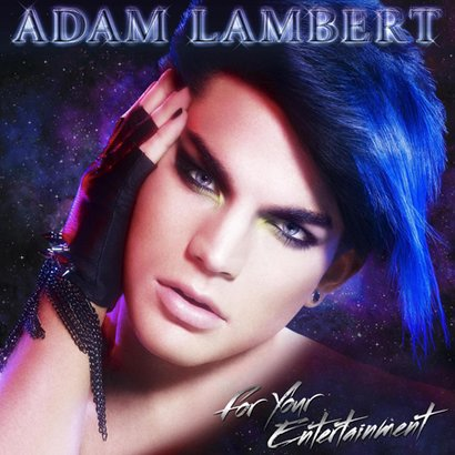 Adam Lambert's Debut Album Cover Art