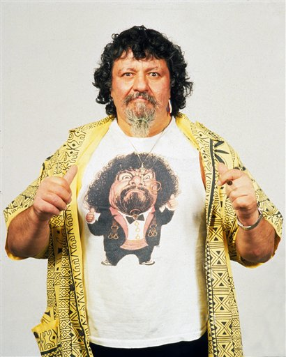 Captain Lou Albano AP Photo