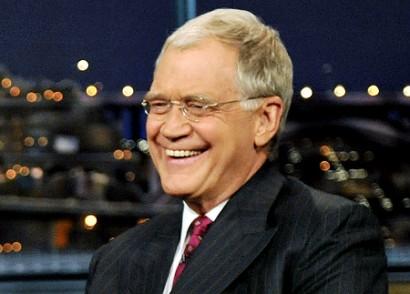 David Letterman. AP Photo.