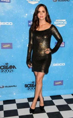 Eliza Dusku Attends The Scream Awards. Photo: Gettyimages.com