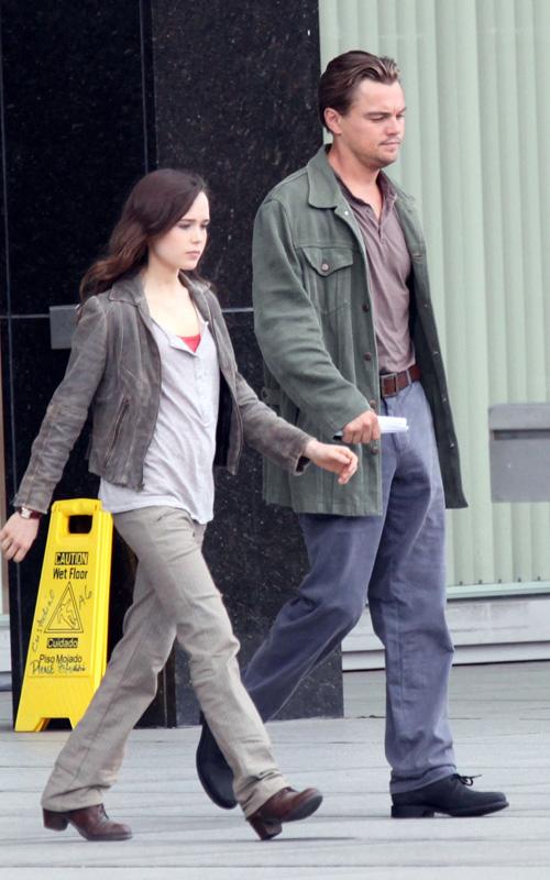 Ellen Page & Leonardo DiCaprio. Photo: FamePictures.com