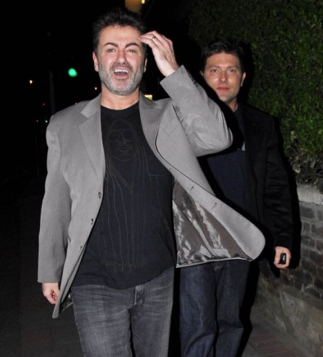 George Michael & Kenny Goss.  Photo: TheDailymail.co