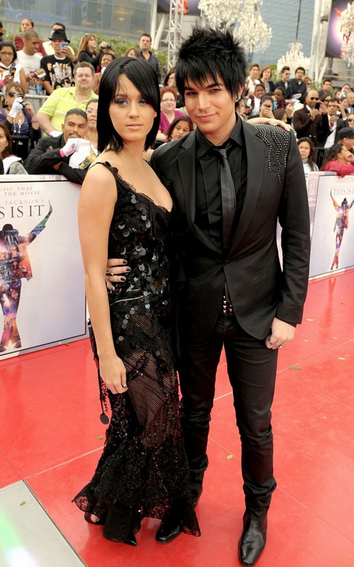 Katy Perry & Adam Lambert. Photo: GettyImages.com