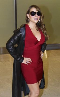Mariah Carey In Japan. Photo: SplashNewsOnline.com