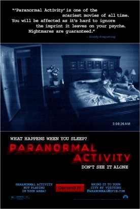 Paranormal Activity. Photo: Paramount Pictures