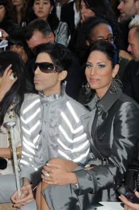 Prince Along With Date Bria Valente.  Photo: Flynetonline.com