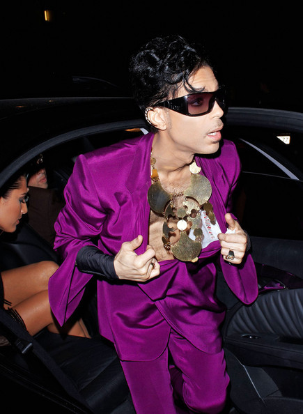 Prince Attends Fendi.  Photo:Wireimage.com