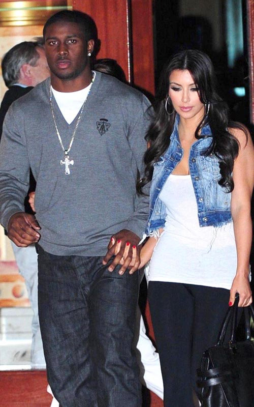 Kim Kardashian And Reggie Bush. Photo: Flynetonline.com