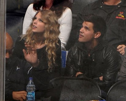 Taylor Swift &amp; Taylor Lautner. Photo: GettyImages.com