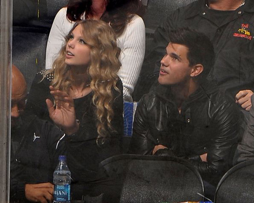 Taylor Swift & Taylor Lautner. Photo: GettyImages.com
