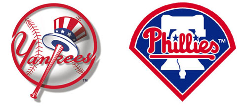 Yankees Versus Phillies. Image provided By TheDailyContributor.com