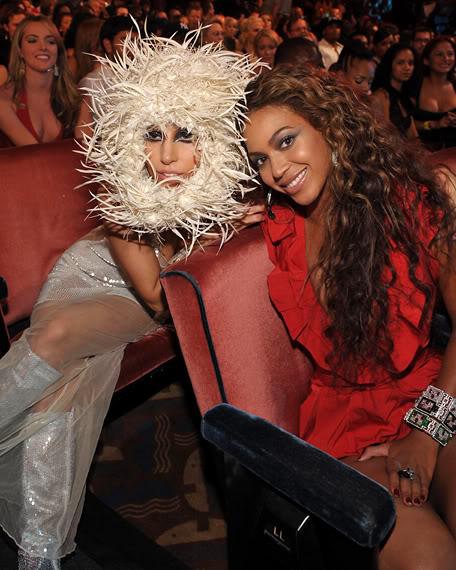 Lady Gaga & Beyonce.  Photo: MTV.com