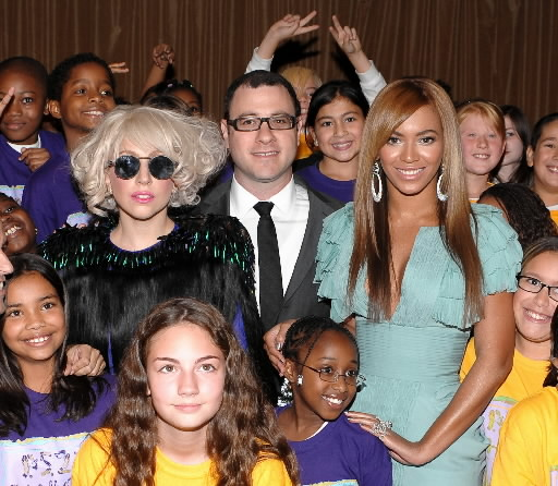 Lady Gaga & Beyonce.  Photo: Gettyimages.com