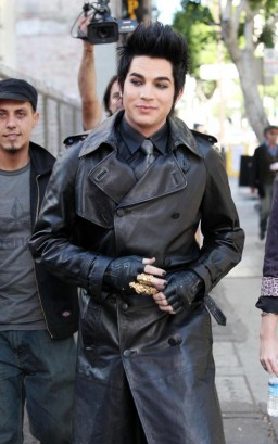 Adam Lambert On Set.  Photo: Flynetonline.com