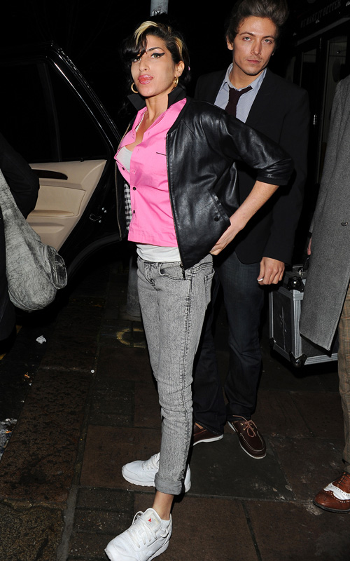 Amy Winehouse In Camden.  Photo: SplashNewsOnline.com