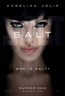 Angelina Jolie Is Salt
