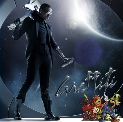 Chris Brown Graffiti Cover Artwork