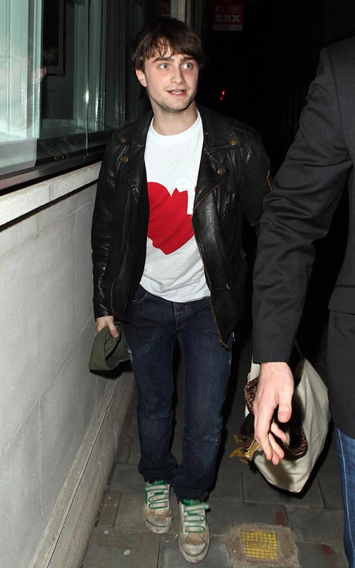 Daniel Radcliffe Attends The Harry Potter Halloween Party In London. Photo: Flynetonline.com