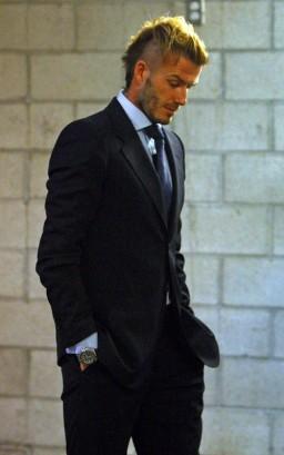 David Beckham.  Photo: SplashNewsOnline.com